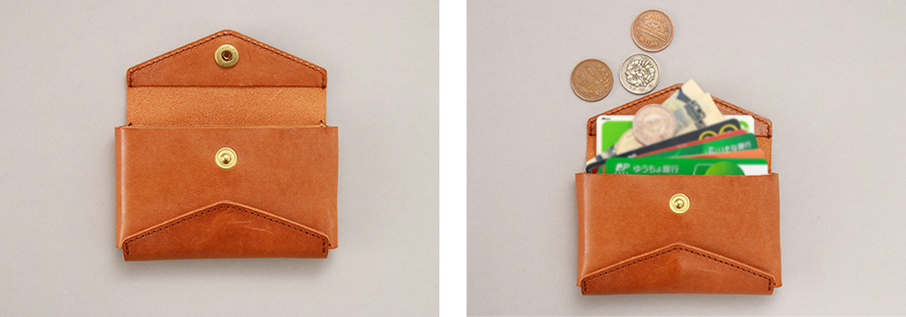 折財布 ミニ財布 小さい財布 コンパクト 二つ折り 折り紙 パクパク 財布